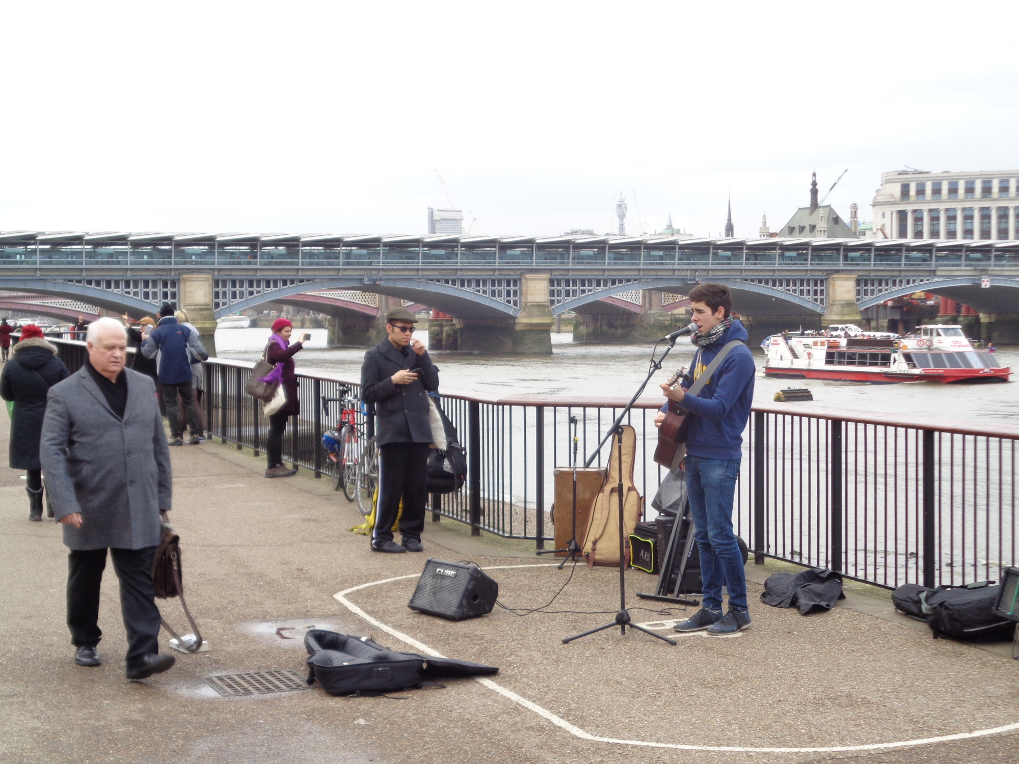 99 Buskers of London